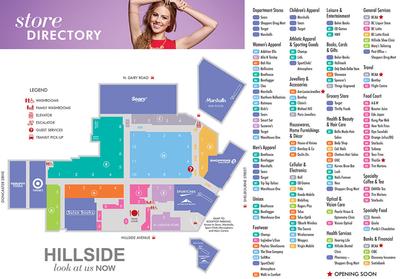 Hillside Shopping Centre plan
