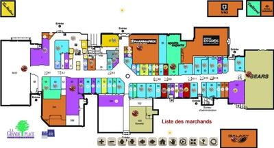 La Grande Place des Bois-Francs plan