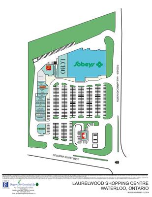Laurelwood Shopping Centre plan