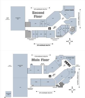 Melcor Centre (Lethbridge Centre) plan
