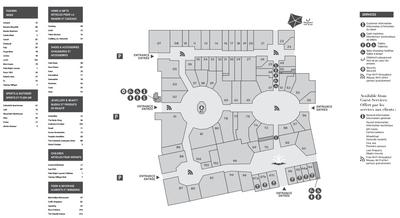 McArthurGlen Designer Outlet Vancouver plan