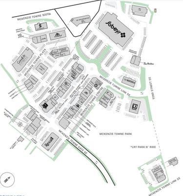 McKenzie Towne Centre plan
