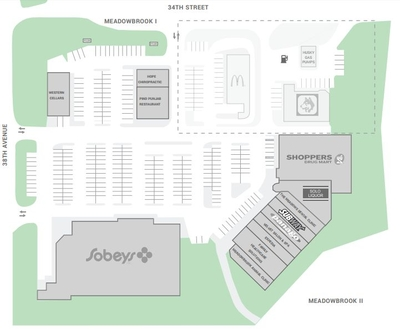 Meadowbrook Centre plan