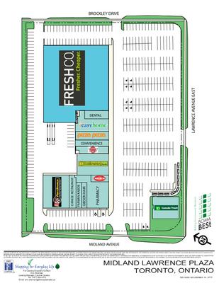 Midland Lawrence Plaza plan