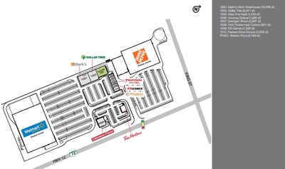 Midland Power Centre plan