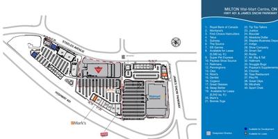 Walmart Milton Supercentre plan