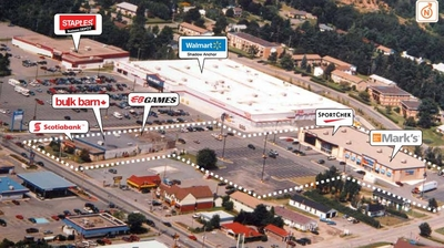 New Minas Shopping Centre plan