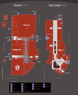 Northgate Centre plan