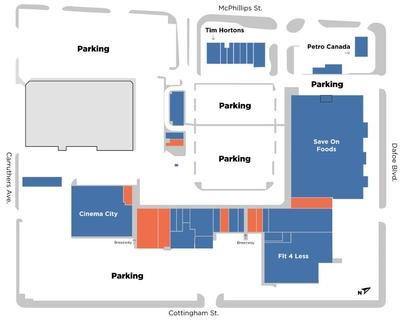 Northgate Shopping Centre Winnipeg plan