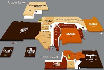 Northumberland Mall plan
