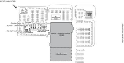 Oakridge Centre London plan