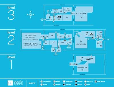 Pacific Centre CFShops plan