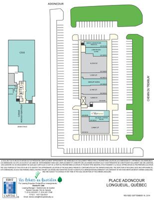Place Adoncour plan
