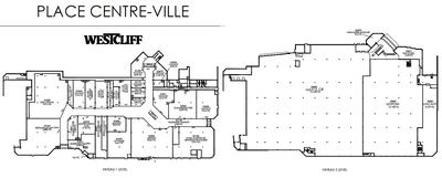 Place Centre-Ville plan