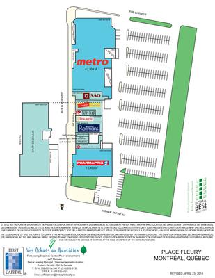 Place Fleury plan