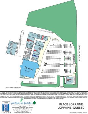 Place Lorraine plan