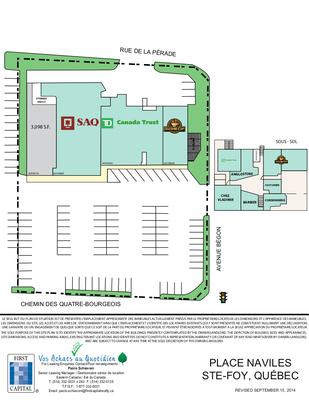 Place Naviles plan