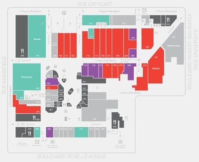 Place Ville Marie plan