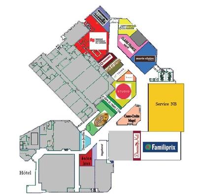 Carrefour Assomption plan