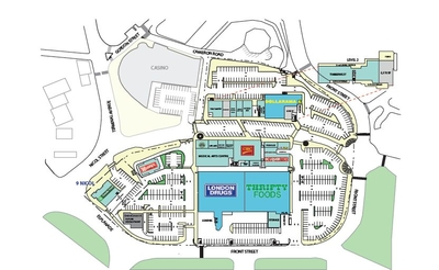 Port Place Shopping Centre plan