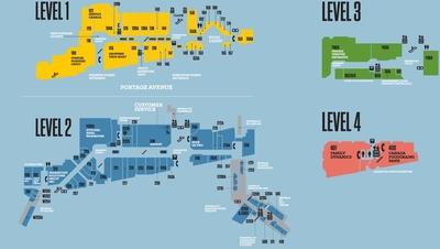 Portage Place  plan