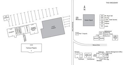 RioCan Centre Sudbury plan