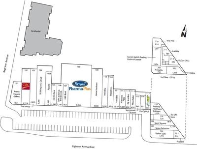 RioCan Sunnybrook Plaza plan
