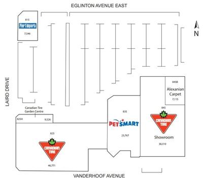 Riocan Leaside Centre plan