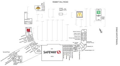 Riverbend Square Shopping Centre plan