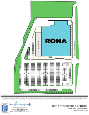 Rona Stockyards Centre plan