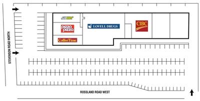 Rosslynn Plaza plan