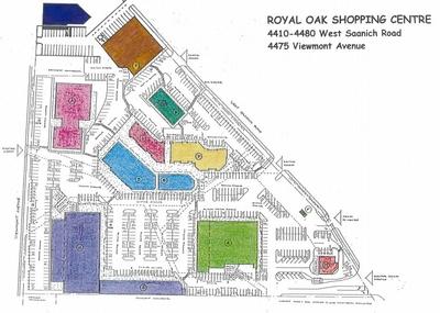 Royal Oak Shopping centre plan