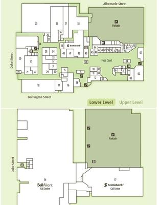 Scotia Square plan