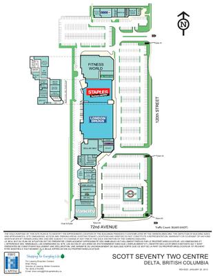 Scott 72 Centre plan