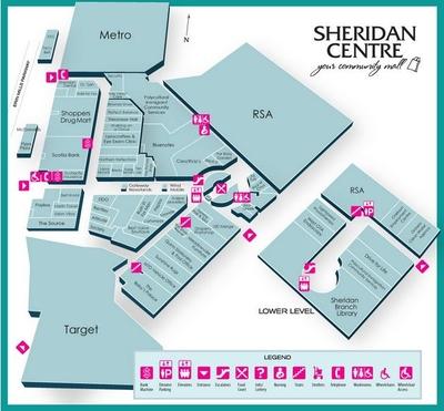 Sheridan Centre plan