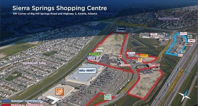 Sierra Springs Shopping Centre  plan
