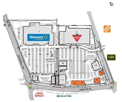 SmartCentres Bowmanville plan