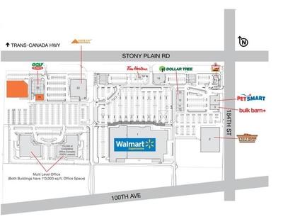 SmartCentres Edmonton West plan