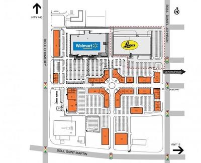 SmartCentres Laval Centre plan