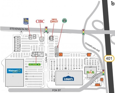 SmartCentres Oshawa South plan