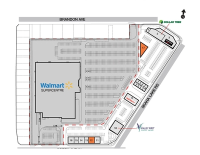 SmartCentres Penticton (Peachtree) plan