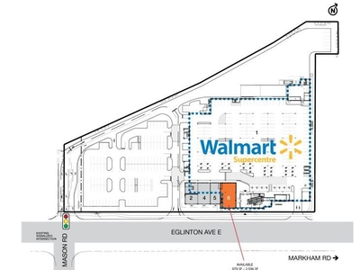 SmartCentres Scarborough South plan
