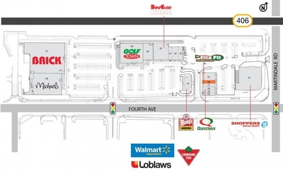SmartCentres St. Catharines West (II) plan