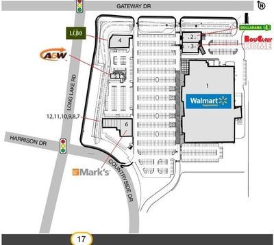 SmartCentres Sudbury plan