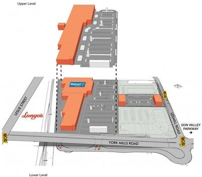 SmartCentres Toronto (York Mills) plan