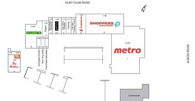 Southgate Shopping Centre plan