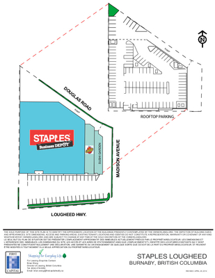 Staples Lougheed plan