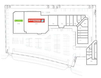 Stittsville Shopping Centre plan