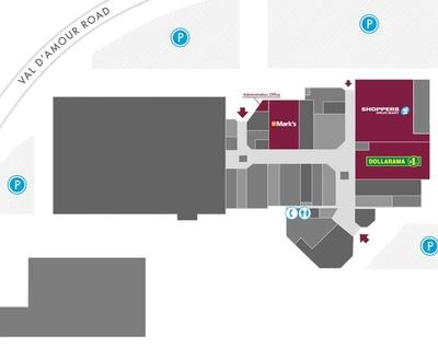Sugarloaf Mall plan