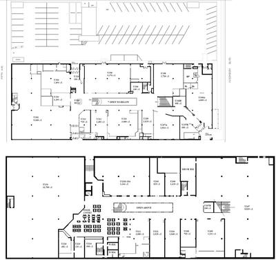 The 101 Mall, Business Center plan